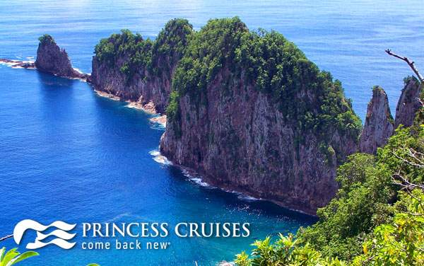 Princess South Pacific & Tahiti cruises from $529*