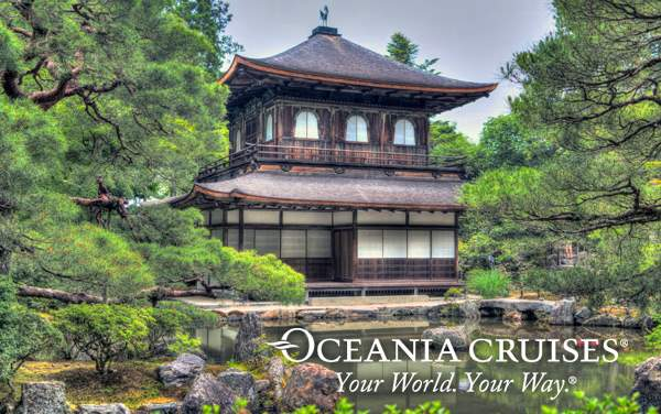 Oceania Asia cruises from $3,199*