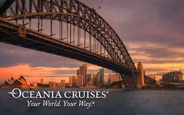 Oceania Australia & New Zealand cruises from $3,999*