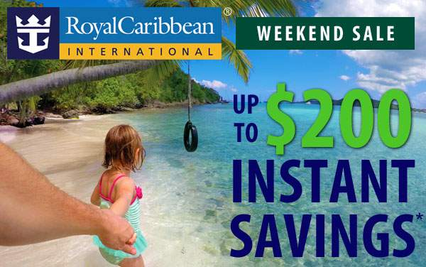 Royal Caribbean: President's Day Weekend Sale