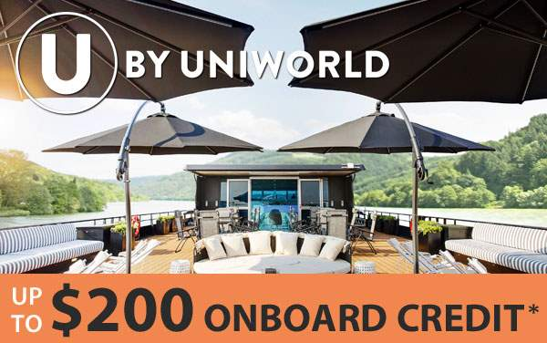 U by Uniworld: up to $200 FREE Onboard Credit*