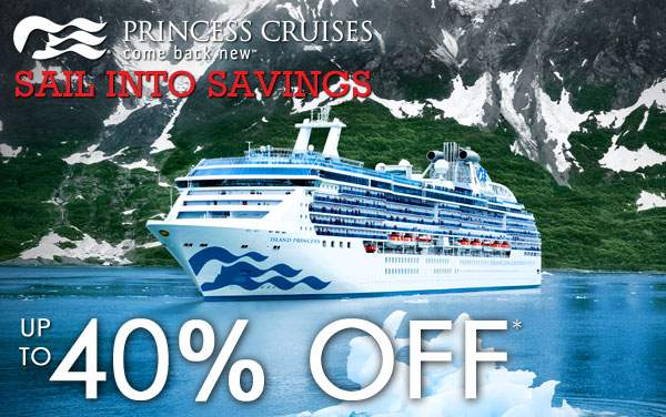 Princess Cruises: up to 40% OFF Alaska*