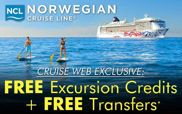 Exclusive: Free Excursion Credits for NCL*