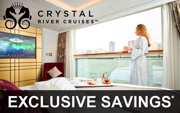 Crystal River Cruises: Exclusive Savings*