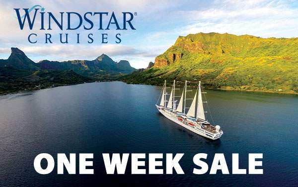 Windstar 1-Week Sale with Reduced Fares*