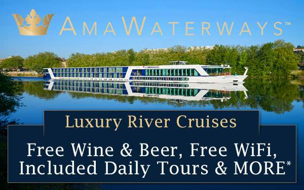 AmaWaterways Luxury River Cruises from $1,155*