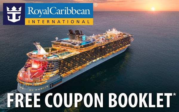Royal Caribbean: FREE 2019 Onboard Coupon Booklet*