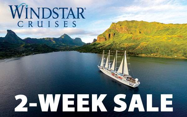 Windstar Cruises: 2-Week Sale