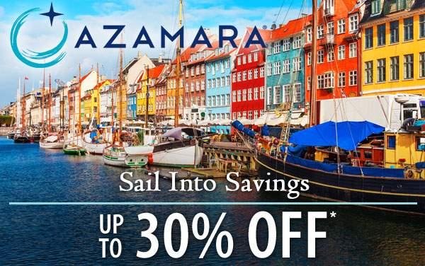 Azamara: up to 30% OFF*