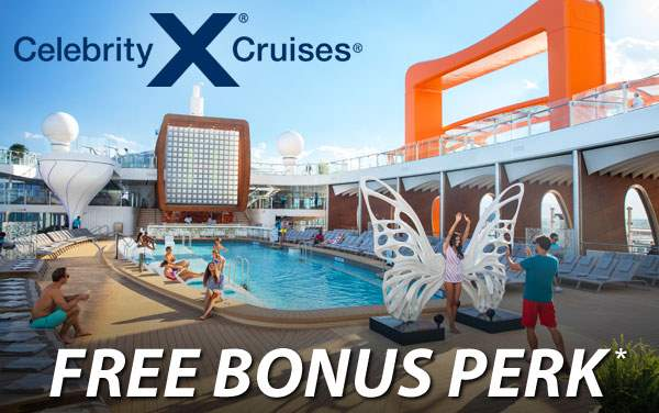 Celebrity Cruises: FREE Bonus Perk*