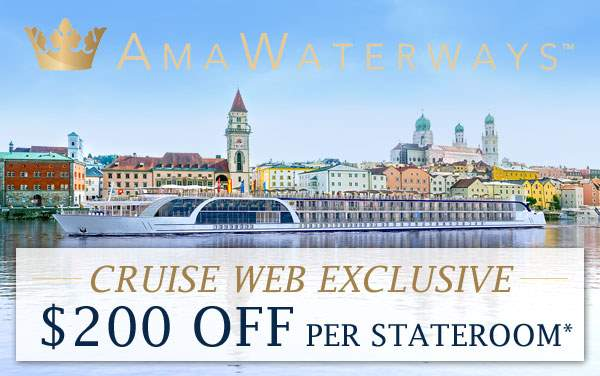AmaWaterways: Exclusive $200 OFF per stateroom*