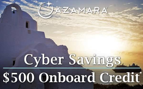 Azamara Cyber Sale: $500 to Spend Onboard