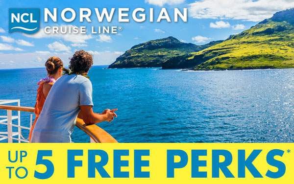 Norwegian Cruise Line: FREE Drinks, WiFi, Speci...