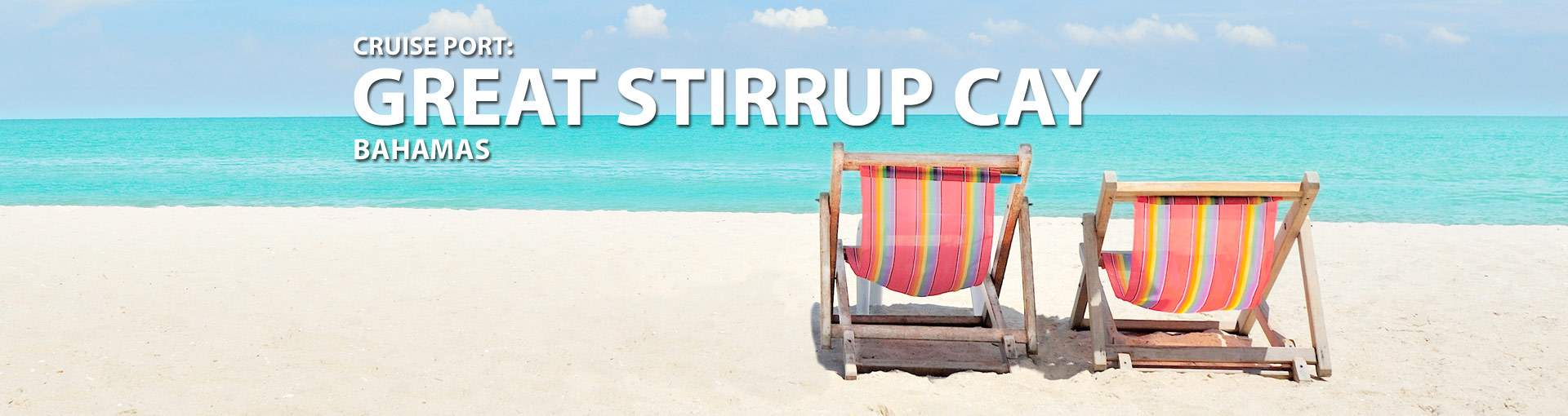 Cruises to Great Stirrup Cay, Bahamas