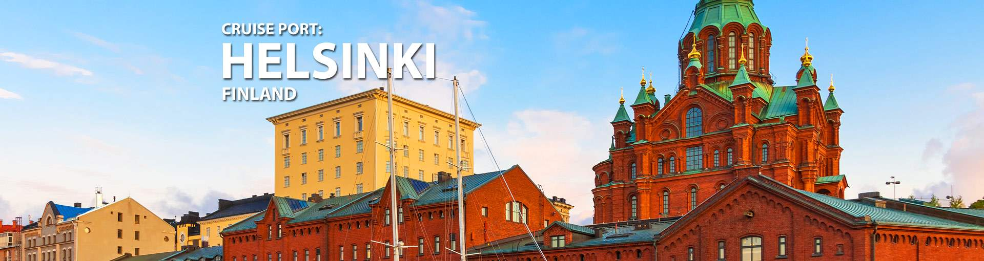 Cruises to Helsinki, Finland