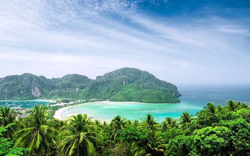 Asia Phi Phi Island Royal Caribbean Asia Cruises