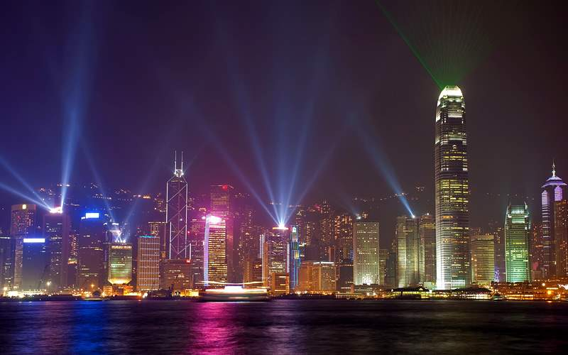 Lights over Hong Kong Royal Caribbean Asia Cruises