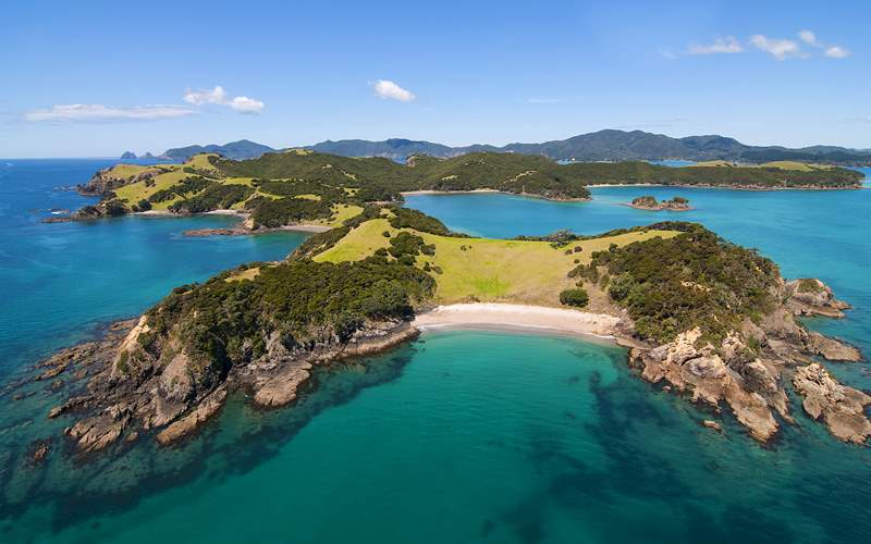 Urupukapuka Island Bay of Islands New Zealand