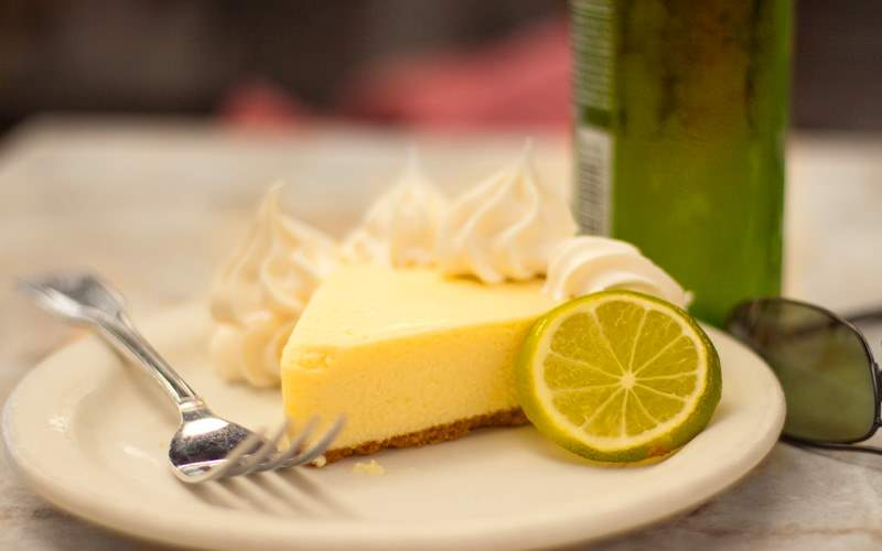 Key Lime pie in Key West Royal Caribbean Bahamas