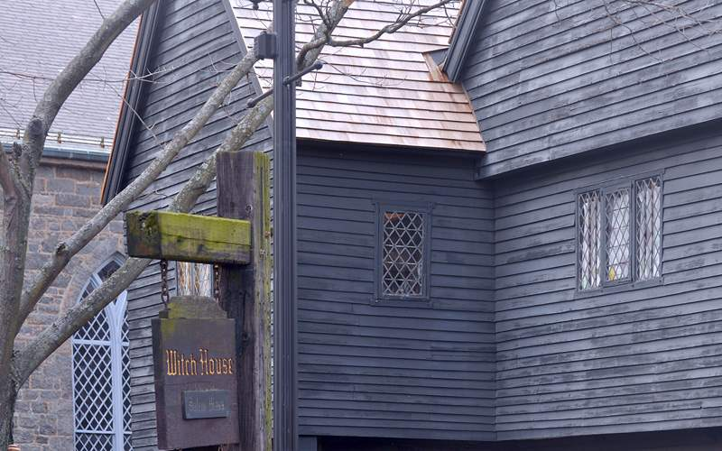 Witch house in Salem, Massachusetts Royal Caribbea