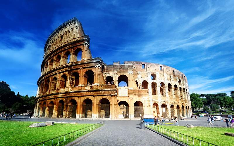 Roman Colosseum in Rome, Italy Royal Caribbean