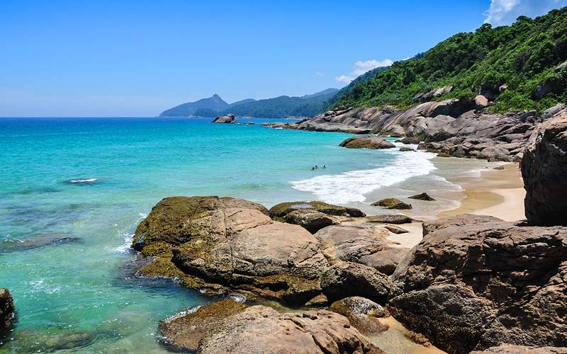 Scenery of Ilha Grande, Brazil Royal Caribbean