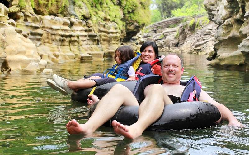 River tubing adventure in Southern Caribbean Royal