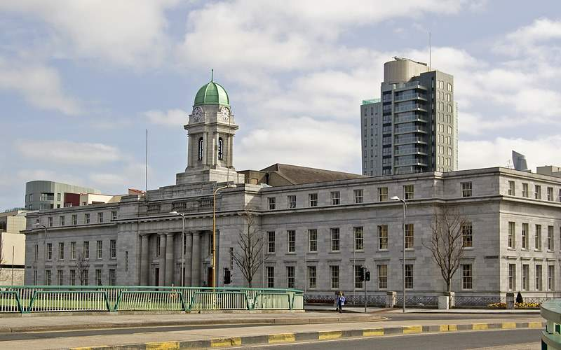 Cork City Hall in Ireland Royal Caribbean
