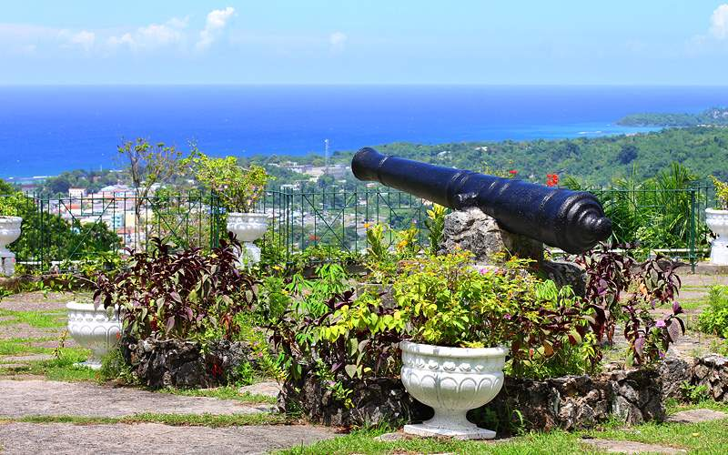 Shaw Park Botanical Gardens in Ochos Rios, Jamaica