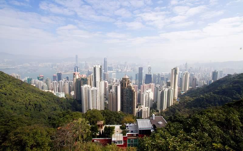 View of Hong Kong Asia Azamara