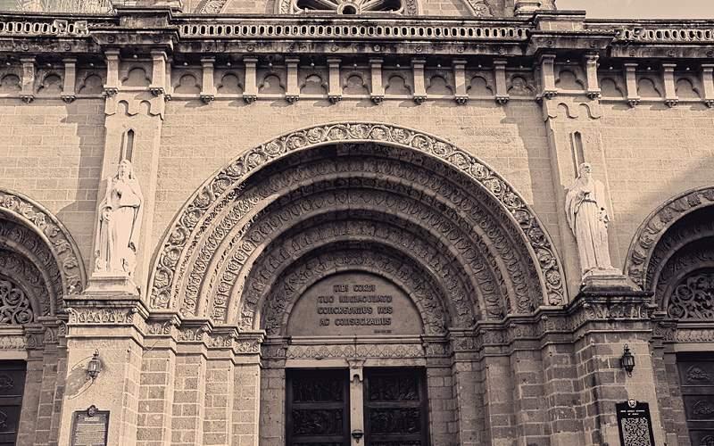 Manila Metropolitan Cathedral Basilica Philippines