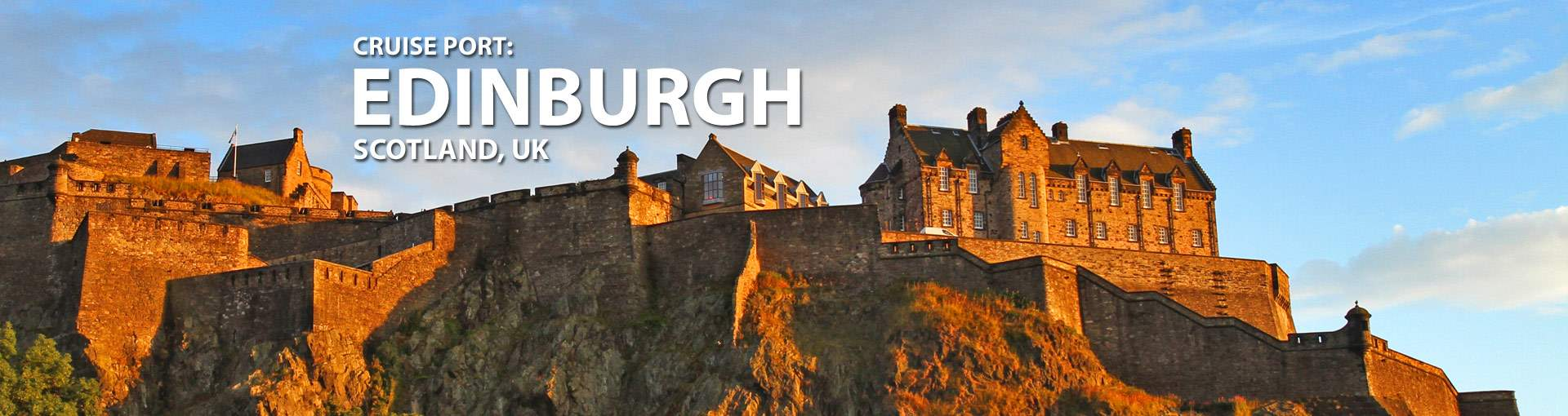Cruises from Leith/Edinburgh, Scotland, UK