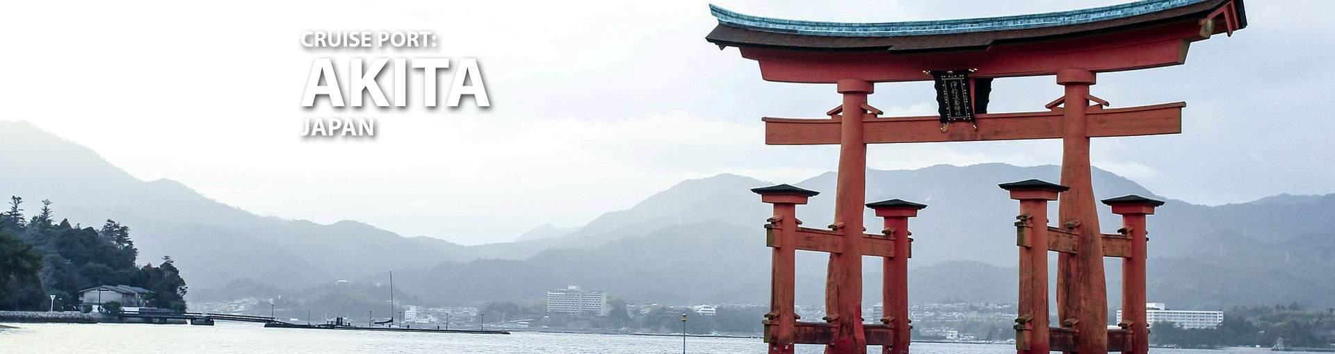 Akita, Japan Cruise Port