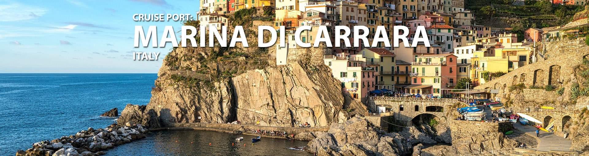 Marina di Carrara, Italy Cruise Port