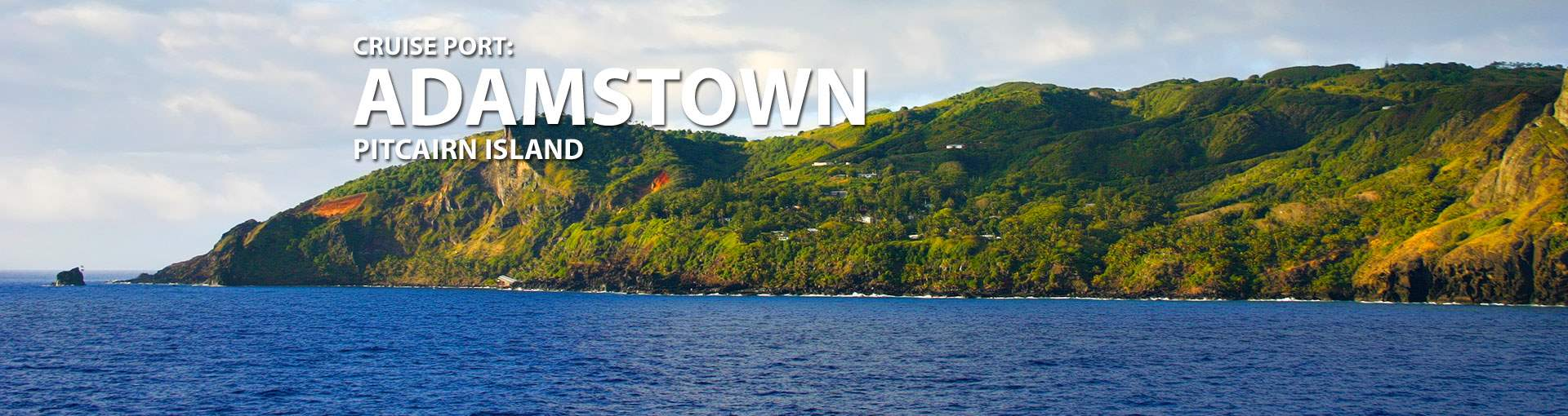 Cruises to Adamstown, Pitcairn Island