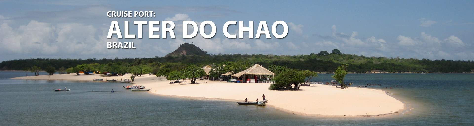 Cruises to Alter Do Chao, Brazil