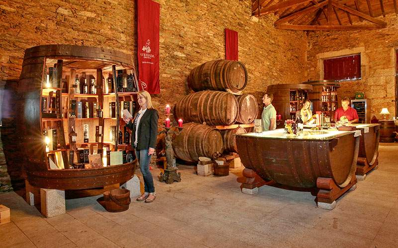 Enjoy a tasting at a winery in Portugal
