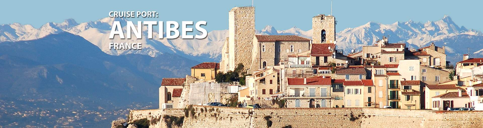 Cruises to Antibes, France