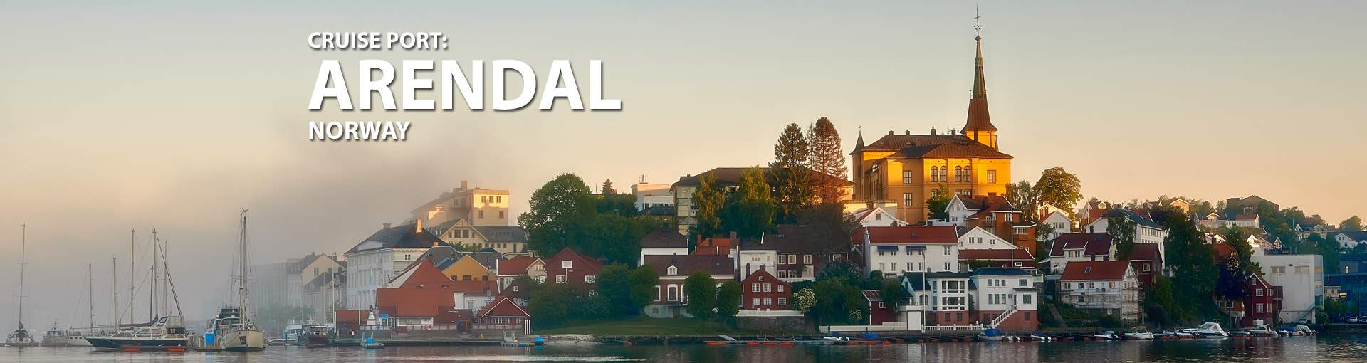 Cruises to Arendal, Norway