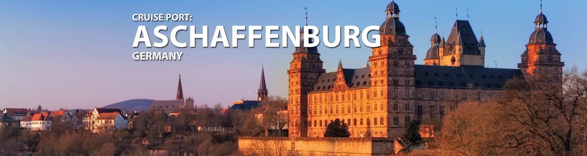 Cruise s to Aschaffenburg, Germany
