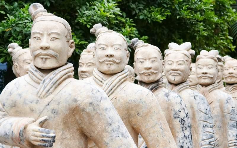 Army of terracotta warriors, China