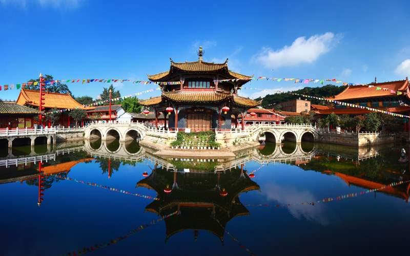 Yuantong Kunming Temple, Yunnan, China