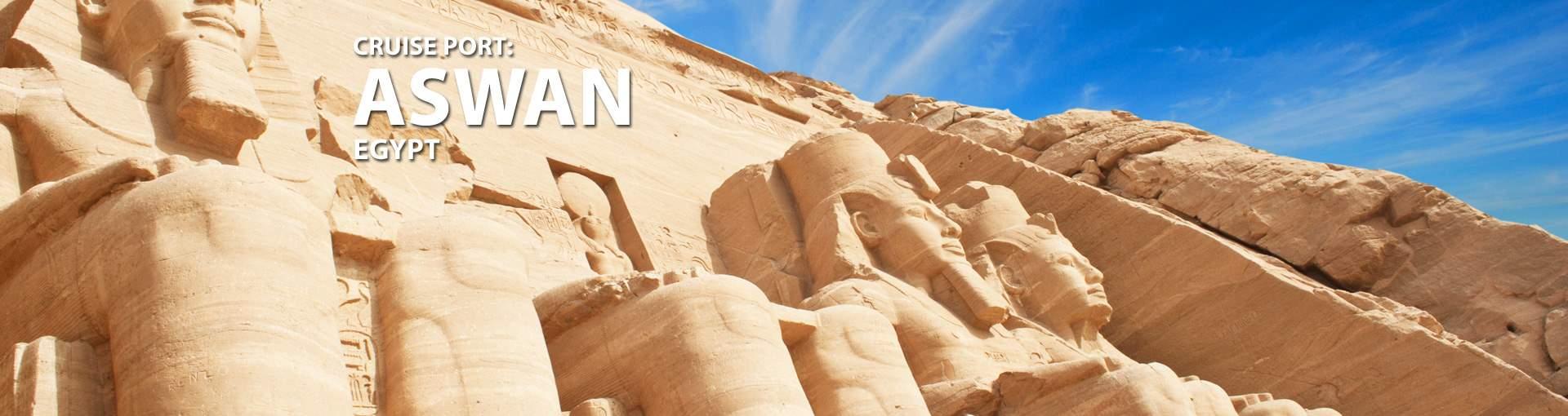 Cruises to Aswan, Egypt