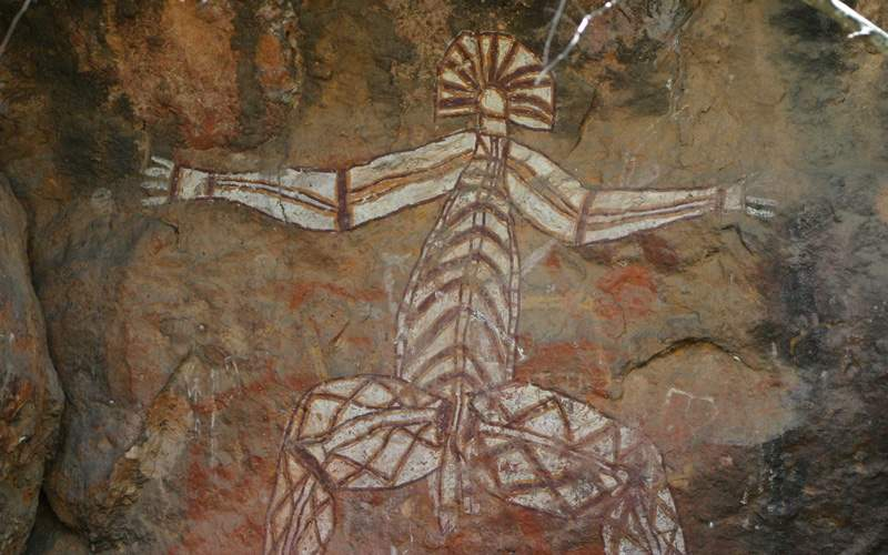Aboriginal paintings