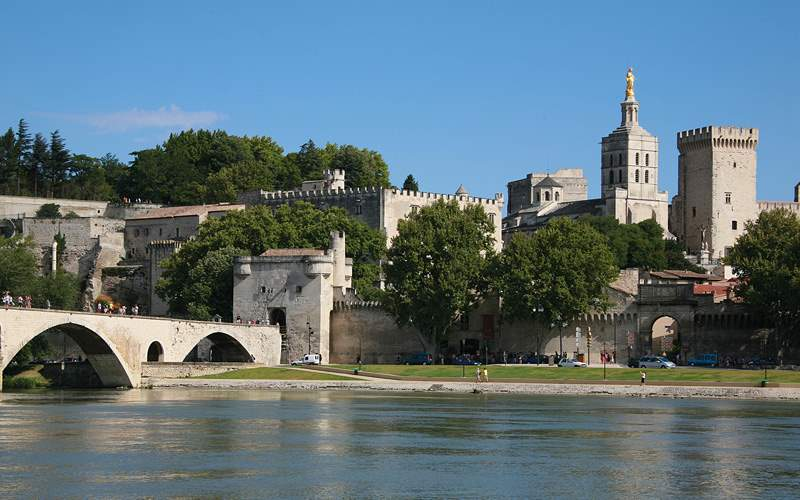 Avignon Palace of the Popes Avalon Waterways