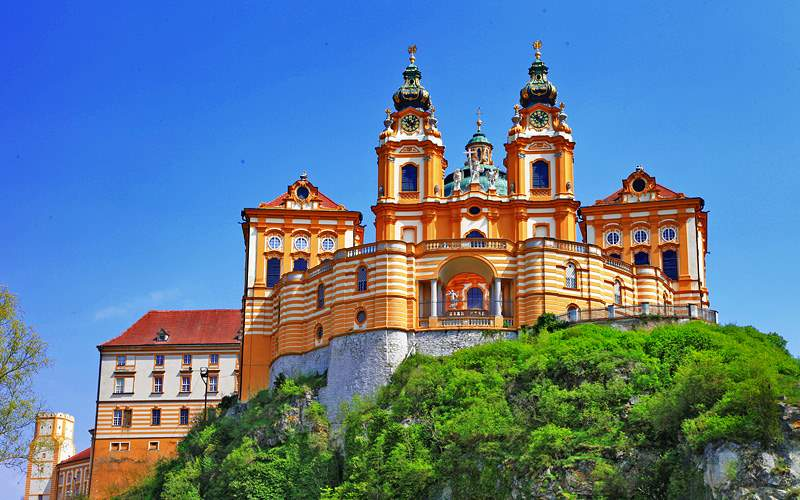 Benedictine Abbey Melk Austria Avalon Waterways