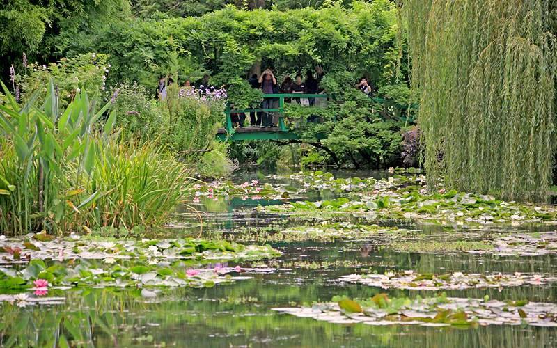 Giverny Gardens in France Avalon Waterways