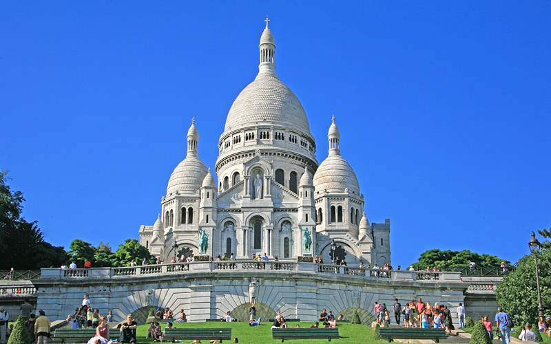Paris Sacre Coeur Avalon Waterways Europe