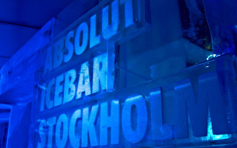 Absolut Ice Bar of Stockholm Azamara Club Cruises