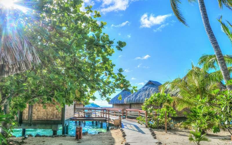 Relax on the Pristine Beaches in Bora Bora